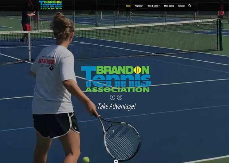 Brandon Tennis Association website link